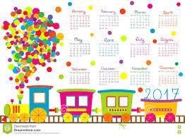 calendar 2017 train