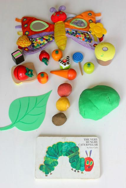 playdough vegetables